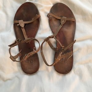 Joie tan strappy sandals